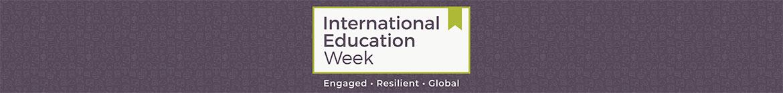 International Education Week 2020 Web Banner
