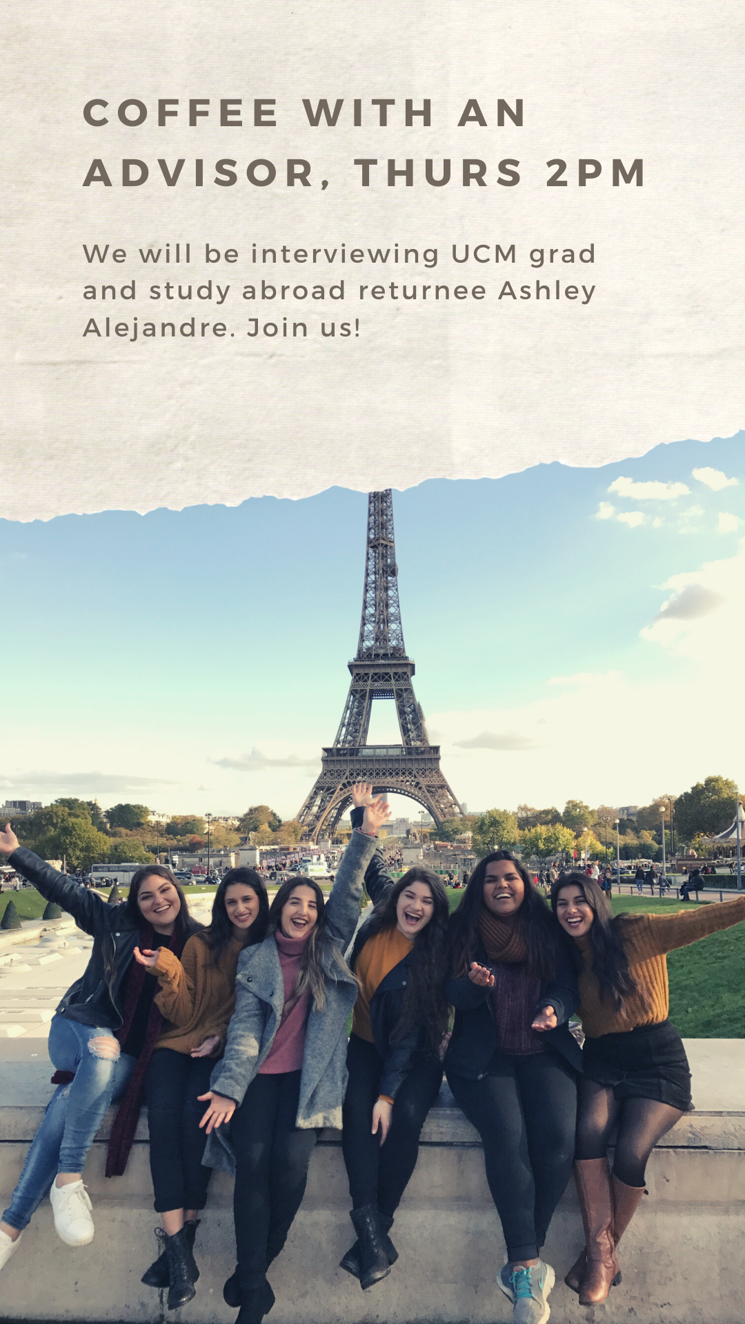 Ashley and friends abroad