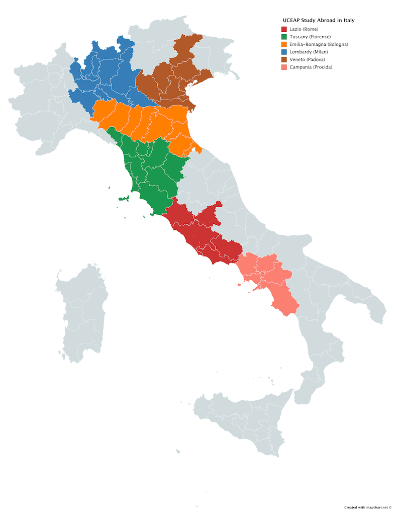 UCEAP in Italy