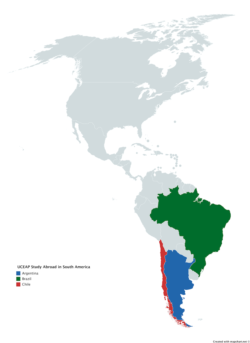 UCEAP in South America