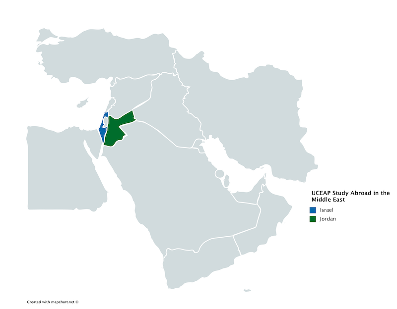UCEAP in the Middle East