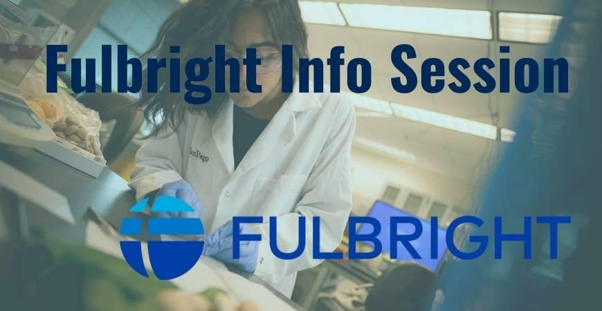 Fulbright Info Session Header