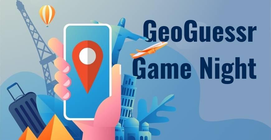 GeoGuessr Game Night Header